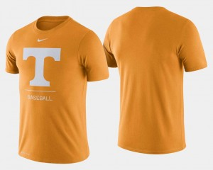 Tennessee Volunteers For Men Dugout Performance College Baseball T-Shirt - Tennessee Orange