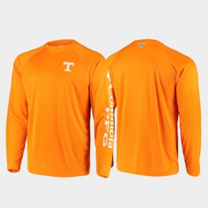 Tennessee Volunteers For Men's Omni-Shade PFG Terminal Tackle Long Sleeve T-Shirt - Tennessee Orange
