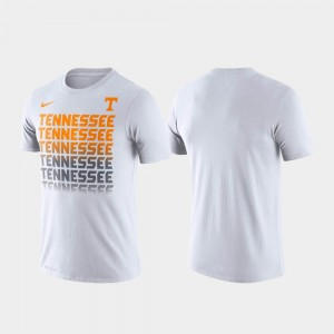 Tennessee Volunteers Fade Performance For Men's T-Shirt - White