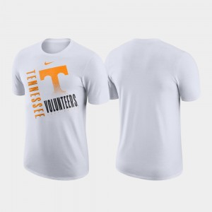 Tennessee Volunteers Men's Performance Cotton Just Do It T-Shirt - White