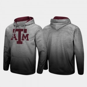 Texas A&M Aggies For Men's Sitwell Sublimated Pullover Hoodie - Heathered Gray