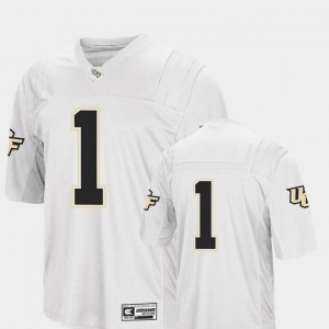 #1 UCF Knights College Football Colosseum For Men's Jersey - White