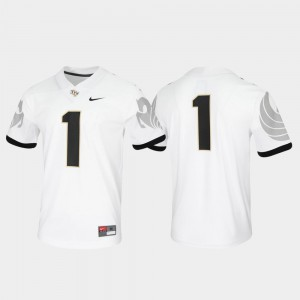 #1 UCF Knights Game Untouchable For Men's Jersey - White