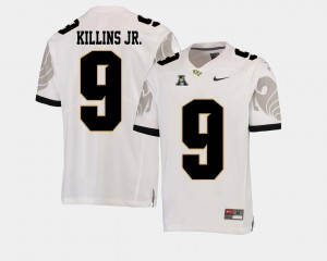 #9 Adrian Killins Jr. UCF Knights Mens College Football American Athletic Conference Jersey - White
