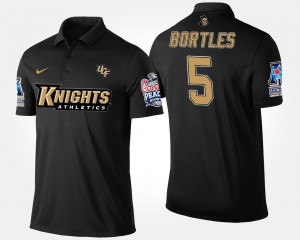 #5 Blake Bortles UCF Knights Bowl Game For Men American Athletic Conference Peach Bowl Polo - Navy