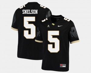 #5 Dredrick Snelson UCF Knights Men College Football American Athletic Conference Jersey - Black