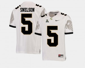 #5 Dredrick Snelson UCF Knights For Men College Football American Athletic Conference Jersey - White
