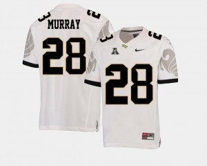 #28 Latavius Murray UCF Knights American Athletic Conference College Football Men Jersey - White