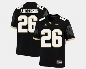 #26 Otis Anderson UCF Knights Men's American Athletic Conference College Football Jersey - Black