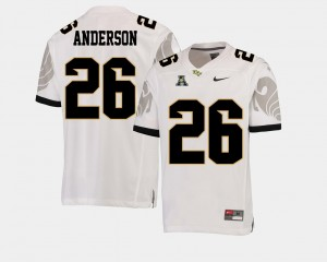 #26 Otis Anderson UCF Knights College Football American Athletic Conference For Men's Jersey - White