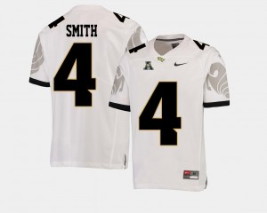 #4 Tre'Quan Smith UCF Knights College Football Men's American Athletic Conference Jersey - White