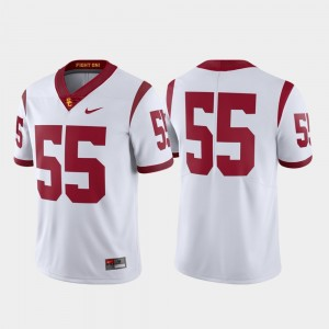#55 USC Trojans Limited Football Mens Jersey - White