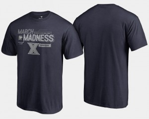 Xavier Musketeers 2018 March Madness Bound Airball Basketball Tournament Mens T-Shirt - Navy