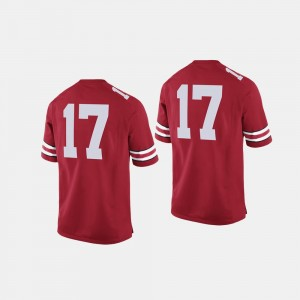 #17 Ohio State Buckeyes College Football For Men Jersey - Scarlet