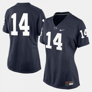 #14 Penn State Nittany Lions Ladies College Football Jersey - Navy Blue