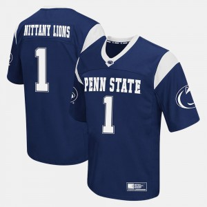 #1 Penn State Nittany Lions Mens College Football Jersey - Navy