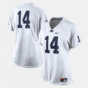 #14 Penn State Nittany Lions College Football Women's Jersey - White