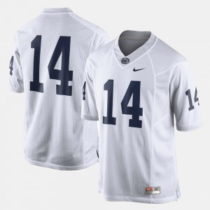 #14 Penn State Nittany Lions College Football For Men Jersey - White