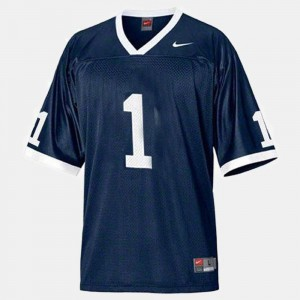 #1 Joe Paterno Penn State Nittany Lions College Football For Men's Jersey - Blue