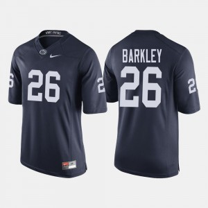 #26 Saquon Barkley Penn State Nittany Lions For Men's College Football Jersey - Navy