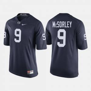 #9 Trace McSorley Penn State Nittany Lions Mens College Football Jersey - Navy