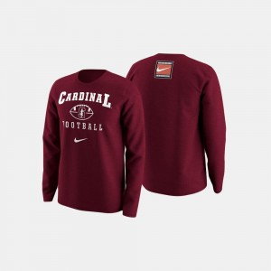 Stanford Cardinal College Football Retro Pack For Men Sweater - Cardinal