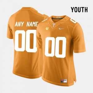 #00 Tennessee Volunteers College Limited Football Youth(Kids) Customized Jersey - Orange