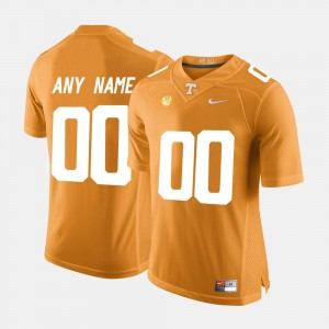 #00 Tennessee Volunteers College Limited Football For Men's Customized Jersey - Orange