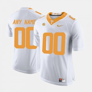 #00 Tennessee Volunteers College Limited Football Men's Customized Jersey - White