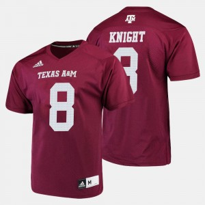 #8 Trevor Knight Texas A&M Aggies For Men College Football Jersey - Maroon