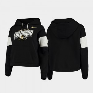 Colorado Buffaloes Pullover Local For Women Hoodie - Black