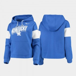Kentucky Wildcats Local Pullover Womens Hoodie - Royal