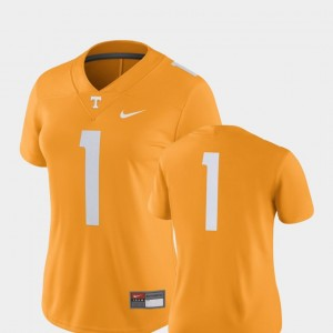 #1 Tennessee Volunteers 2018 Game College Football For Women Jersey - Tennessee Orange