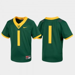 #1 Baylor Bears For Kids Untouchable Football Jersey - Green
