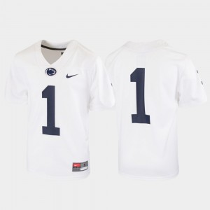 #1 Penn State Nittany Lions Youth Untouchable Football Jersey - White