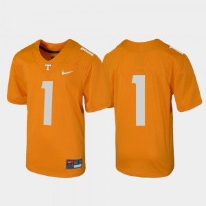 #1 Tennessee Volunteers For Kids Football Untouchable Jersey - Tennessee Orange